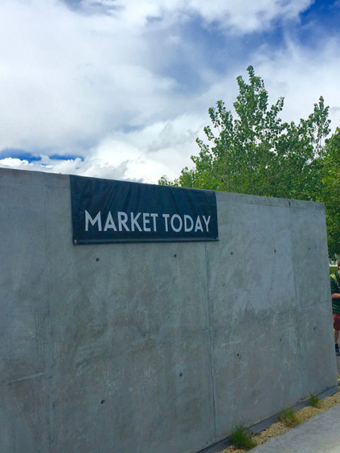 To market to market for stone soup