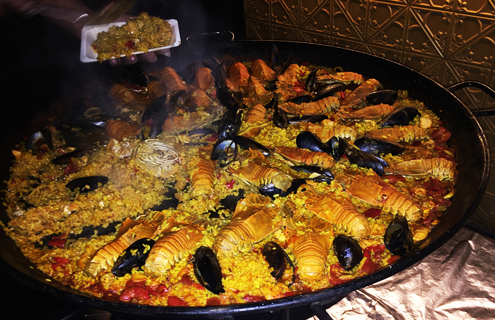 Society Slipper lobster paella